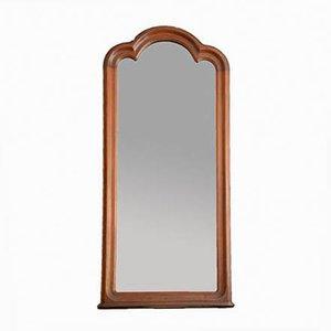 Large Antique Biedermeier Wall Mirror, 1860s