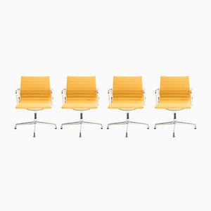Model EA108 Swivel Chairs by Charles & Ray Eames for Vitra, 1950s, Set of 4