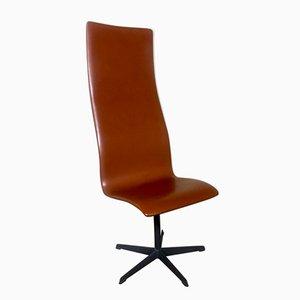 Chaise Oxford Modèle 3172 Vintage par Arne Jacobsen