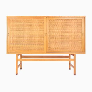Vintage RY33 Highboard by Hans J. Wegner for Ry Møbler