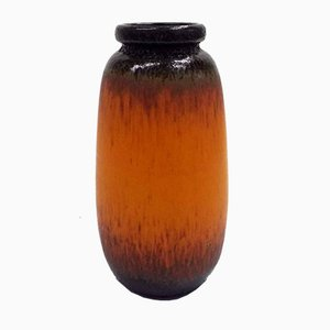 Large Glazed Ceramic Floor Vase, 1970s