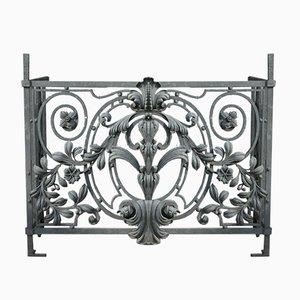 antique wrought iron balcony railing - Balcony Railing