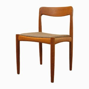 Mid-Century en Teck Side Chair de Bramin, 1960s