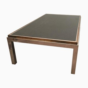 Brass & Lily Granite Table, 1960s