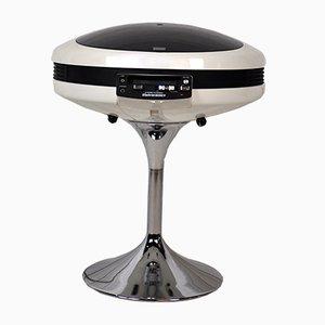 Tocadiscos y radio modelo 2007 japonés de Weltron, años 70