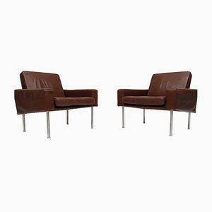 Modell 34/1 Airport Chairs von Hans J. Wegner für A.P. Stolen, 1960er, 2er Set