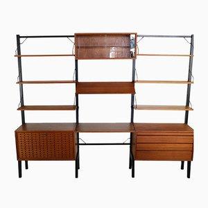 Libreria modulare Royal System vintage di Poul Cadovius per Cado, anni '60