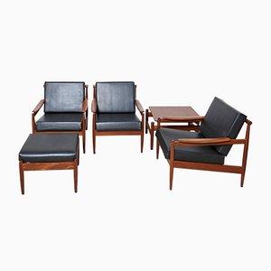 Living Room Set by Jos De Mey for Luxus, 1962