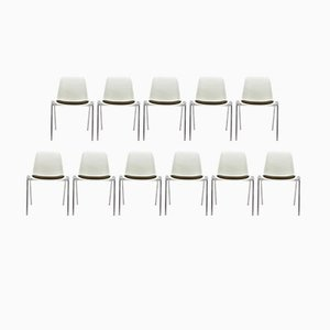 Mid-Century Europa Chairs by Helmut Starke, 1980s, Set of 11