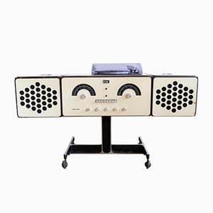 RR 126 White Record Player by Pier Giacomo & Achille Castiglioni for Brionvega, 1960s