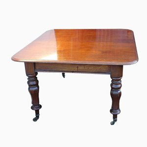 Victorian Mahogany Extendable Dining Table with Tulip Legs