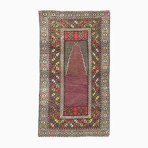 Anatolischer Vintage Melas Teppich