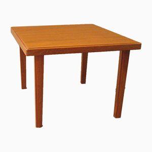 Petite Table Carré en Teck, 1960s
