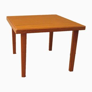 Small Square Teak Table, 1960s