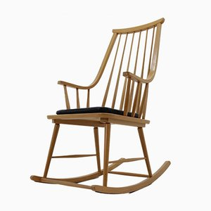 Rocking Chair Scandinave Mid-Century par Lena Larsson, 1972