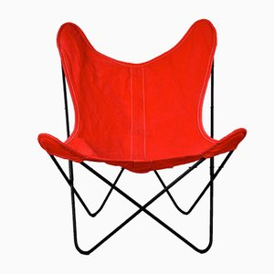 Butterfly Chair by Jorge Hardoy Ferrari for Knoll International, 1970s