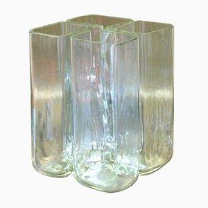 Murano Glas Vase von Alfredo Barbini, 1960er