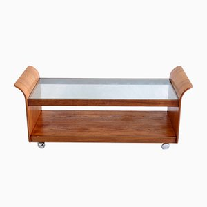 Vintage Sleigh Coffee Table from G-Plan