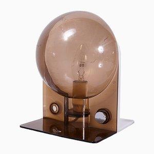 Lámpara de mesa Sirio de Sergio Brazzoli para Guzzini, años 70