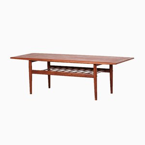 Vintage Danish Coffee Table by Grete Jalk for Glostrup