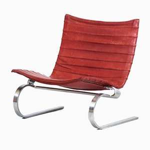 PK20 Lounge Chair by Poul Kjaerholm for E. Kold Christensen, 1968
