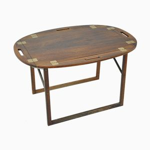 Vintage Danish Side Table in Rosewood by Svend Langkilde, 1950s