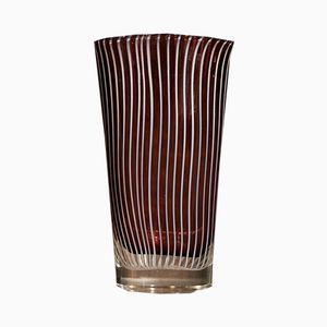 Vaso in vetro di Murano di Cenedese Vetri, anni '60