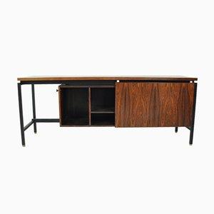Freistehender Palisander Sideboard von Herbert Hirche für Meiers Möbelfabrik, 1950er