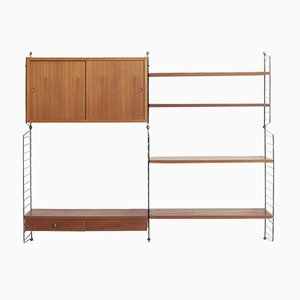 Wall Unit by Kajsa & Nils 'Nisse' Strinning for String, 1950s