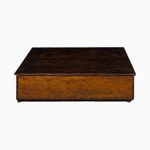 Niedriger Vintage Couchtisch aus Holz