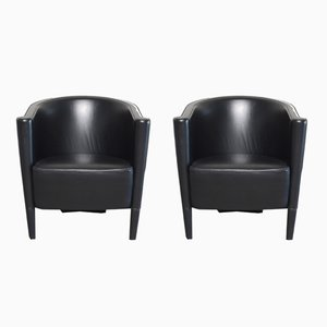 Vintage Model Rich Armchairs by Antonio Citterio for Moroso, Set of 2