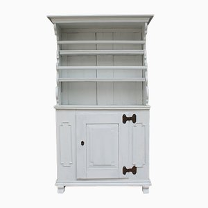 Antique Cupboard in White Softwood