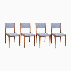 Mod. 693 Esszimmerstühle von Carlo De Carli für Cassina, 4er Set