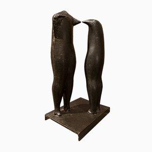 Bronzeskulptur von Dušan Džamonja, 1956