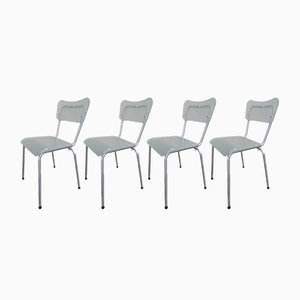 Chaises Chip par Tim Power pour Zeritalia, 1990s, Set de 4