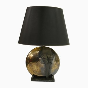 Stone Table Lamp, 1970s