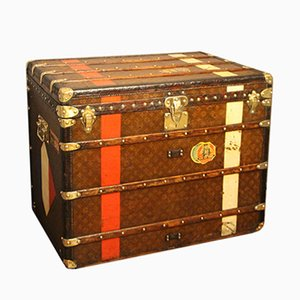 Tall Steamer Trunk from Louis Vuitton, 1920s