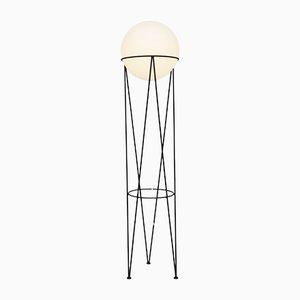 Lampadaire Structure & Globe par Atelier Areti