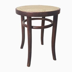 Vintage Stool By Josef Hoffmann For Thonet, 1930s