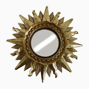Small Mid-Century Sunburst Mirror, 1960s