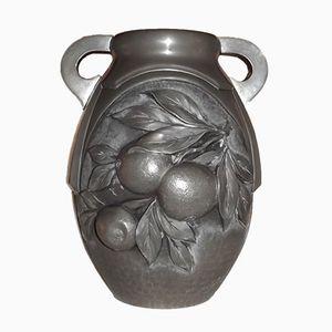 Art Deco Vase von René Sitoleux, 1920er