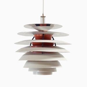 Lampada da soffitto Kontrast di Louis Poulsen, anni '60