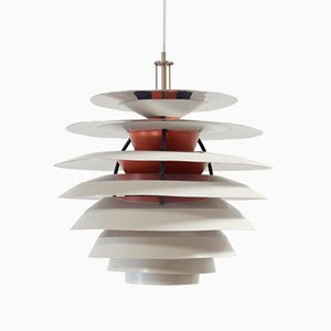 Lámpara de techo Kontrast de Poul Henningsen para Louis Poulsen, años 60