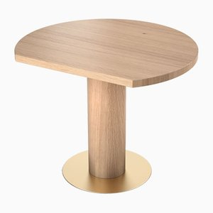 Table d'Appoint Cercle Coupé par Atelier Areti