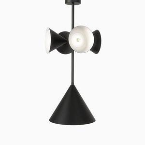 Lámpara colgante Axis con 4 conos de Atelier Areti