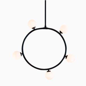 Lámpara de techo Circle & Spheres con esferas de Atelier Areti
