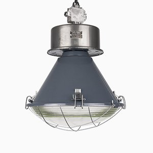 Large Polish Industrial Pendant Lamp from Mesko, 1980s