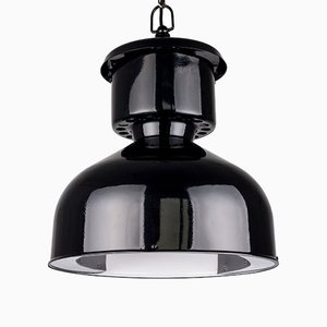 Polish Industrial Pendant Lamp from Mesko, 1960s