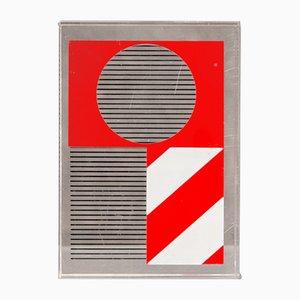 Siebdruck aus Plexiglas von Kumi Sugaï für Gendai Hanga Center, 1975
