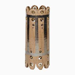 Petite Lampe de Bureau Vintage en Céramique Émaillée par Georges Pelletier